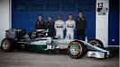 Mercedes W05 launch