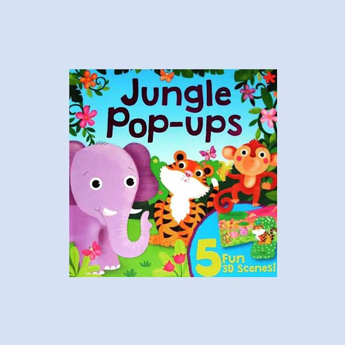 Buku Anak Jungle Pops-Ups