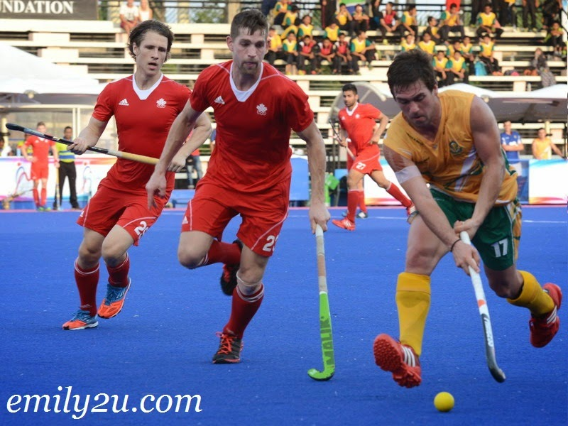 23rd SAS Cup 2014: Day 5 - Canada (2) - South Africa (3)