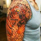 arm - Lion Tattoos & Tiger Tattoo