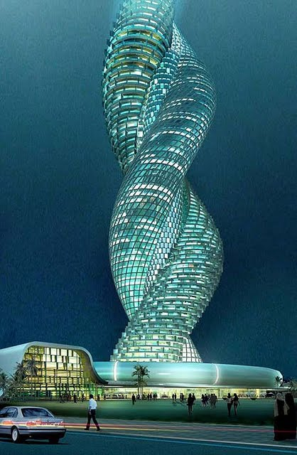 Kuwait city proposed building