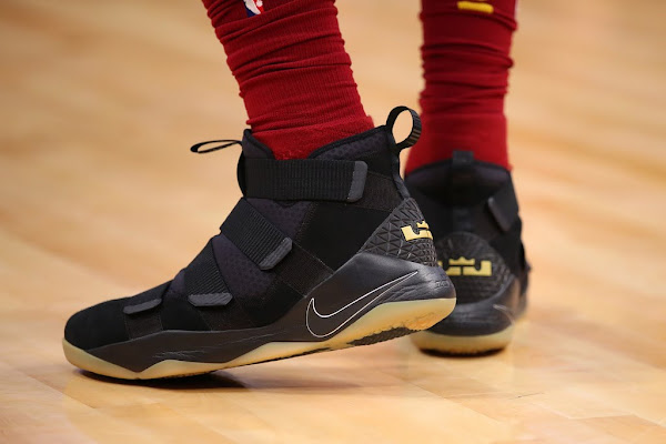 King James Rolls Over Detroit in Nike LeBron Soldier 11