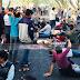 সুগার মিল বন্ধের প্রতিবাদে ঈশ্বরদী-পাবনা মহাসড়ক অবরোধ করে শ্রমিকদের বিক্ষোভ