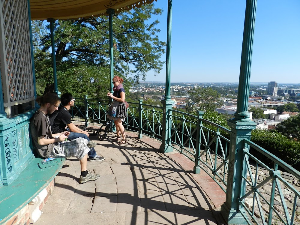 next, we climb up to the Spilberk Castle, which had even more great views of the city....