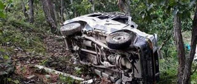 गुल्मीमा जिप दुर्घटना ४ को मृत्यु, ३ जना घाइते