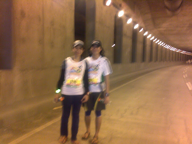 paolo and jean; subway tunnel cebu, cebu city marathon 2012