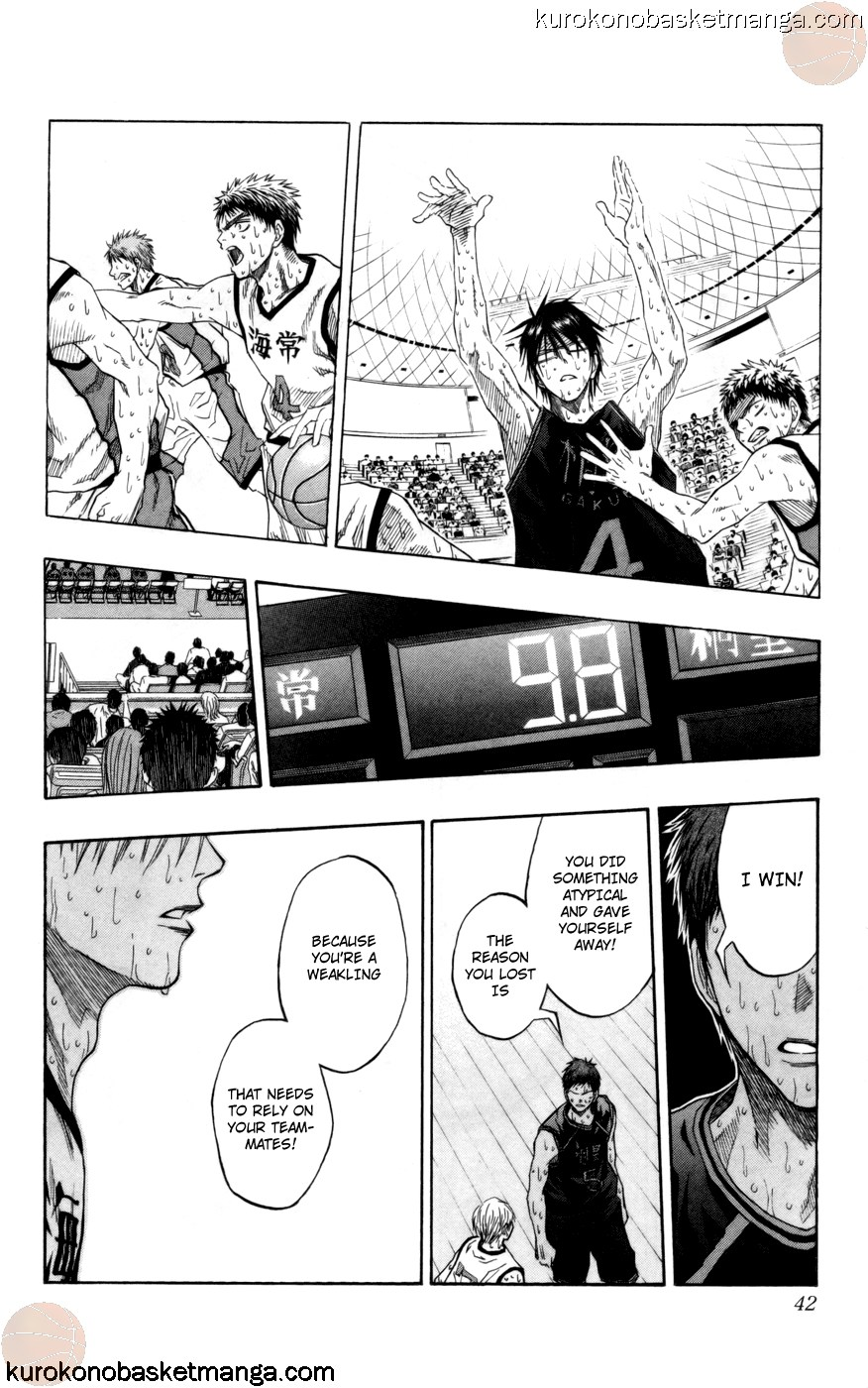 Kuroko no Basket Manga Chapter 72 - Image 16
