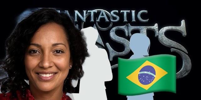 """Atriz Brasileira """"Esperanza Vilgositto"""" está no Elenco do novo Animais Fantásticos 3"""