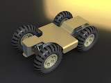 Shown is a robotics platform concept Capture created for a startup company here in Austin.