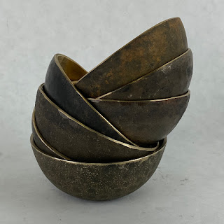 This Co. NEW Set of 7 Bronze Bowls