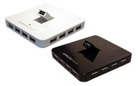 13 Port Hi-Speed USB 2.0 External Hubs with 4A PS (Black or White)