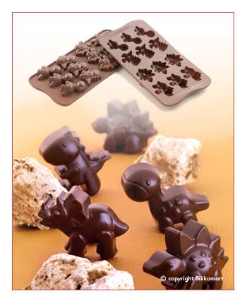 Cetakan Coklat SCG16-Dino