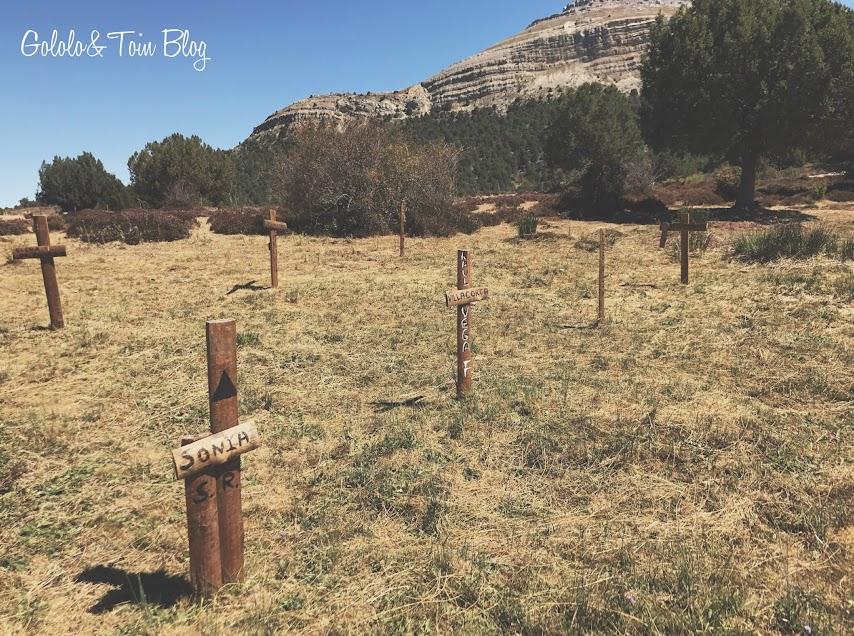 Valle de Arlanza en Burgos escenario de Sad Hill