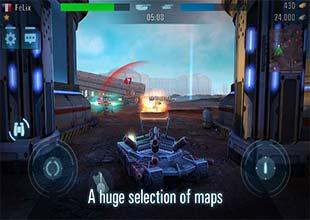 لعبة الحرب والاكشن Tanks VS Robots
