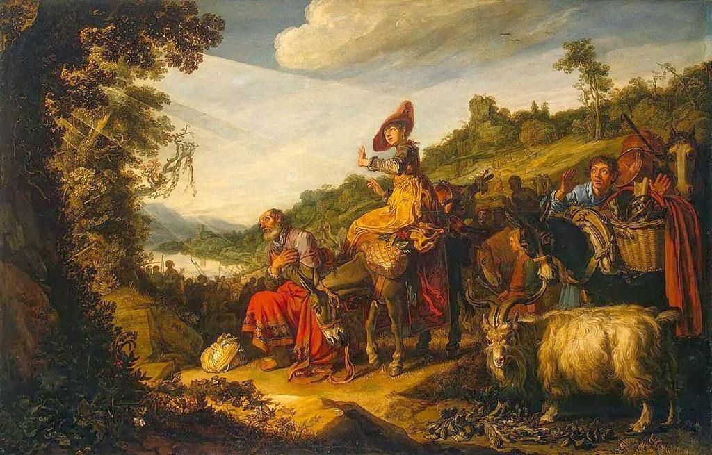Pieter Lastman - Abraham's Journey to Canaan - 1614