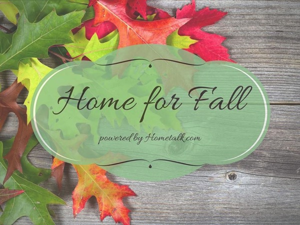 Home for fall blog hop