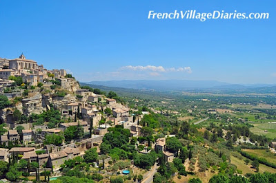 French village Diaries Mini Cooper road trip France Gordes Provence