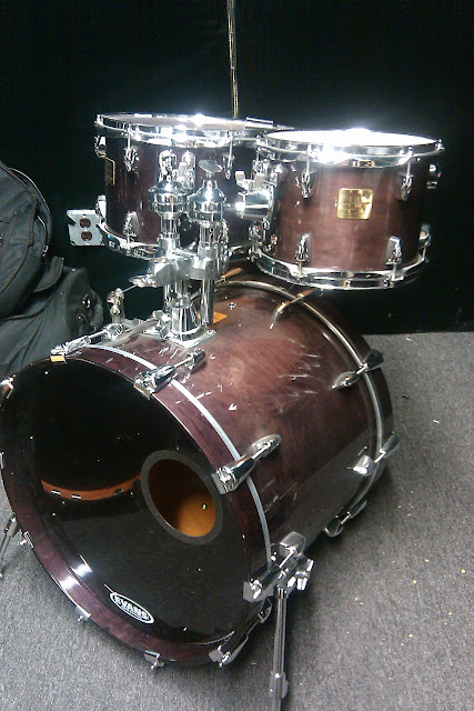 Yamaha Maple Custom Absolute Drum Floor Tom Amber Honey