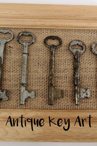 Antique Key Art