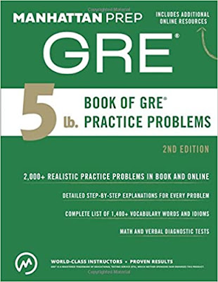 5 Lb. Book of GRE Practice Problems (Manhattan Prep 5 lb Series) 2nd edition pdf free download