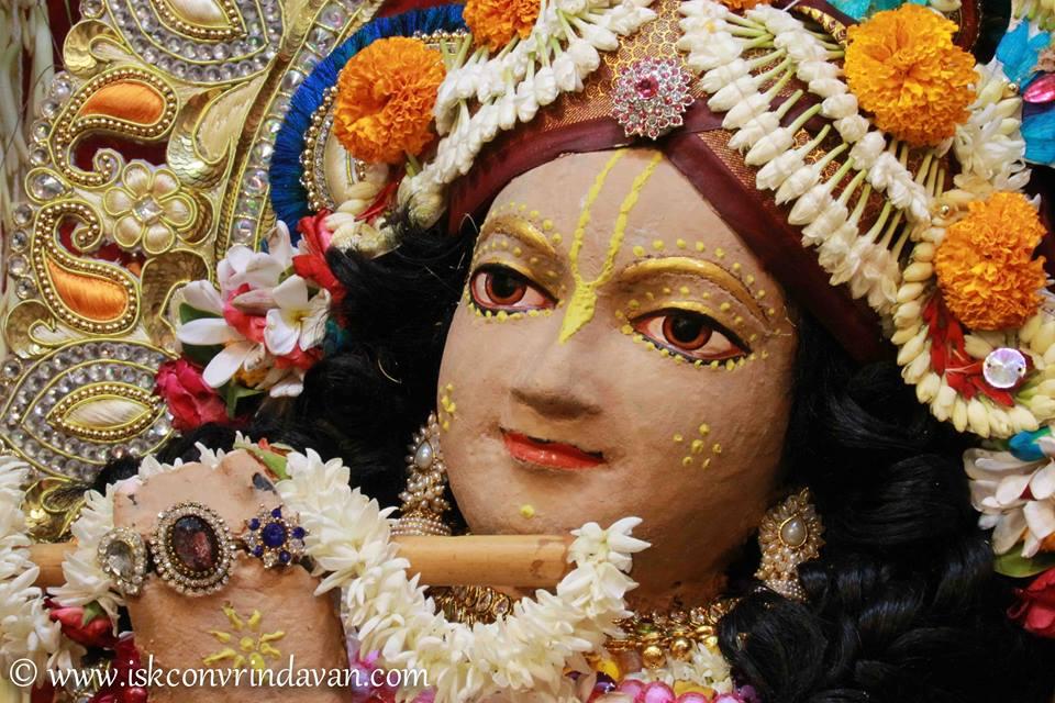 ISKCON Vrindavan Shringar Deity Darshan 29 May  2016 (5)