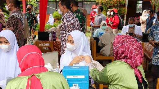 Gubernur: Vaksinasi Siswa Percepat Sekolah Tatap Muka