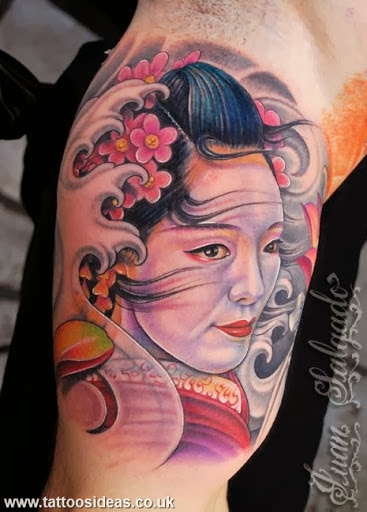 Arm tattoos tattoos ideas pag2 for Geisha tattoo meaning