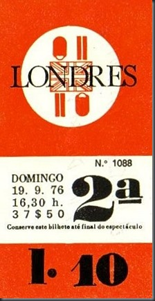 1976 Cinema Londres