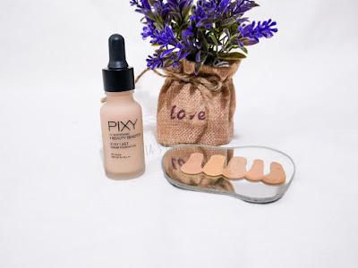 Review Pixy Stay Last Serum Foundation 5 shade