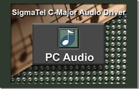 sigmatel c-major audio