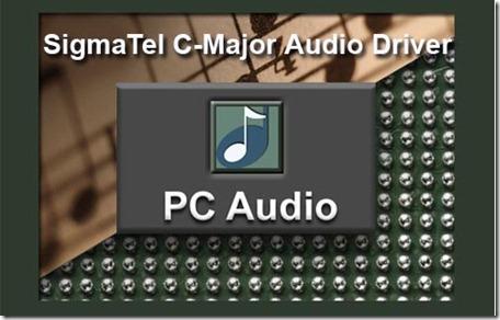 pilote sigmatel c-major audio