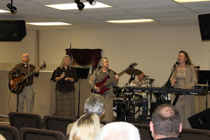 Ministering in song at Voice of Life in Hueytown, AL.