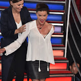OIC - ENTSIMAGES.COM - Emma Willis and Janice Dickinson at the  Celebrity Big Brother - double eviction in London 22nd September 2015 Photo Mobis Photos/OIC 0203 174 1069