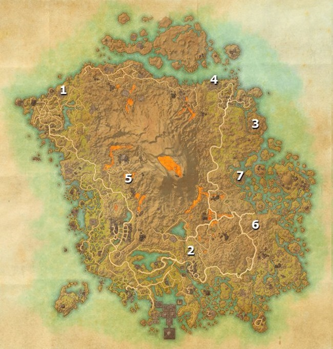 elder scrolls online morrowind stones cold fire locations guide 02 map bb