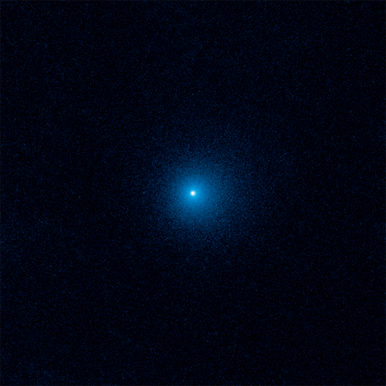 Hubble Uncovers the Farthest Active Inbound Comet Yet Seen