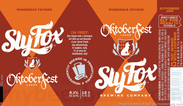 Sly Fox Oktoberfest Returning In New Cans