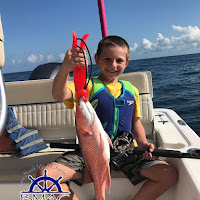 Hunter with a Red Snapper 06-26-2018