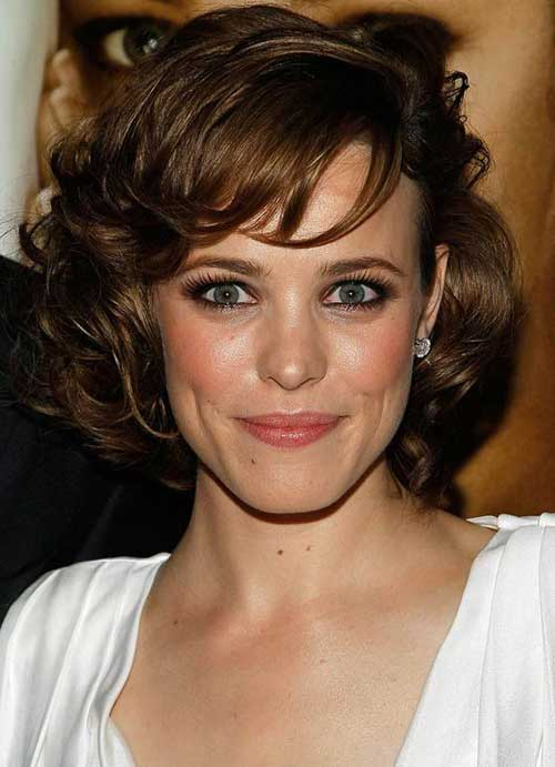 Short Hairstyles For Thick Wavy Hair And Oval Face : Thick short curly hairstyles for oval faces fashion qe