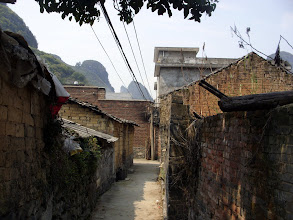 Photo: Walking through the village, everyone was shocked to see me