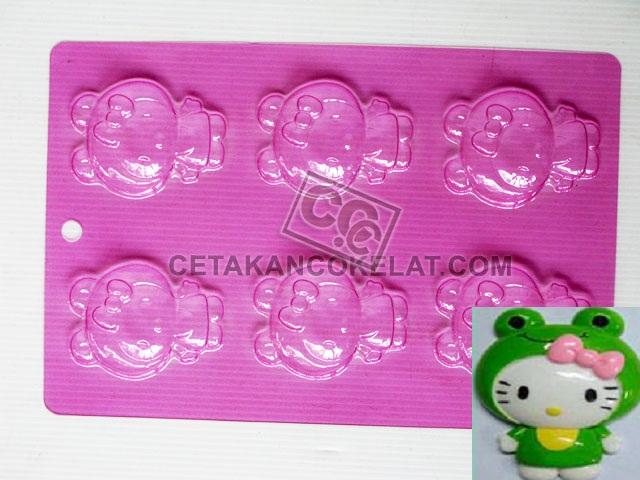 cetakan coklat cokelat MKA hello kitty sanrio frog MKB010 MKB10
