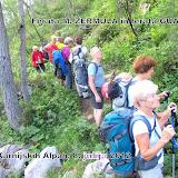 Monte Zermula in Zuc della Guardia po plezalnih poteh, 7.7.2012