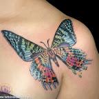 Color - Shoulder Tattoos Designs
