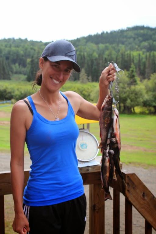 Pêche à la truite mouchetée à la pourvoirie waban-aki