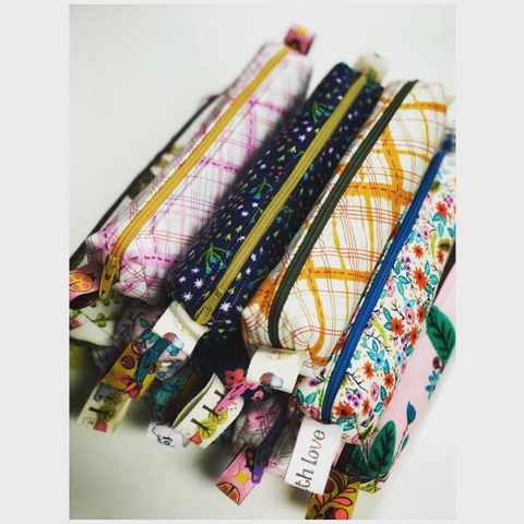 pencil case zipper pouches