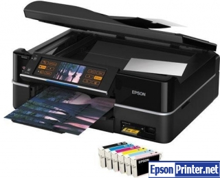 Get Epson TX800FW resetter application