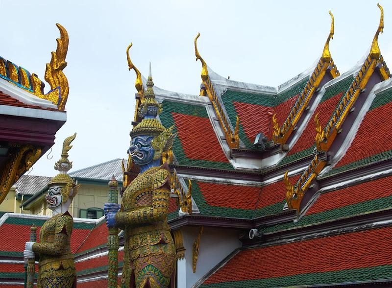 Temple of Emerald Buddha (Wat Phra Kaew) - 4. Bangkok