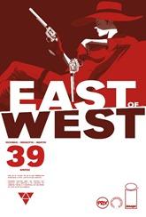 Actualización 18/12/2018: Se agrega el número #39 de East of West, por GinFizz para Prix-Comics y How To Arsenio Lupin. La Casa de Mao ha salido a la guerra. Muerte y su hijo van a su encuentro, pero los Jinetes del Apocalipsis también están en camino.