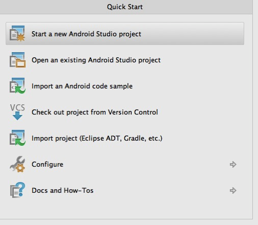 How to create your first Android Application with Android Studio