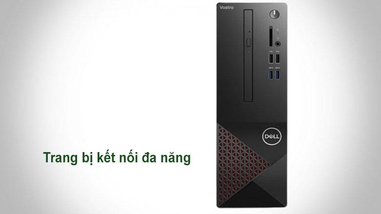 PC Dell Vostro 3681 SFF (i3 10100/4GB/256GB SSD/WL/KB+M/Win10H/1Yr) (42VT360006)   Trang bị kết nối đa năng