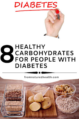 Healthy Carbohydrates for People with Diabetes : Apple, Berry, Nuts, Red Rice, Sweet Potatoes, Wheat